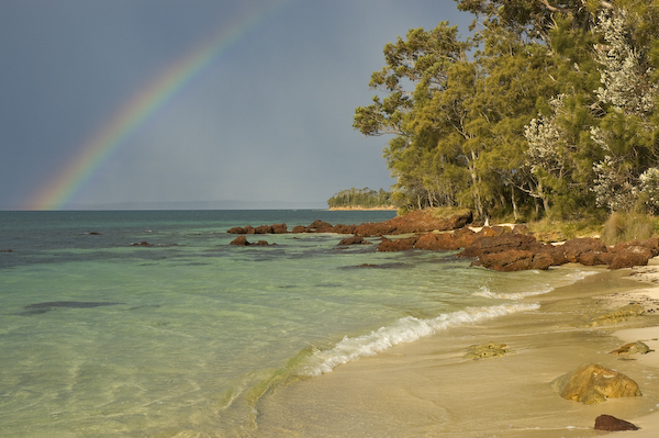 Rainbow over Jervis Bay